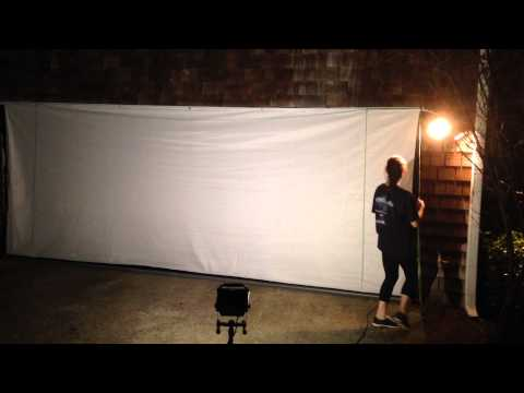 Garage Insect & Projection Screen