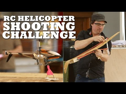 Shooting Down an RC Helicopter