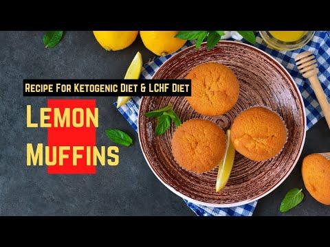 How to make 'Fresh Lemon Muffin' on a Ketogenic Diet