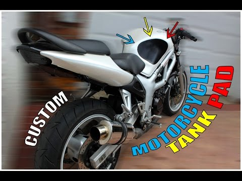 How to Create a Motorcycle Tank Pad
