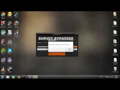 Updated July 2014 | Easy way to bypass surveys on Windows 7 and MacOSX