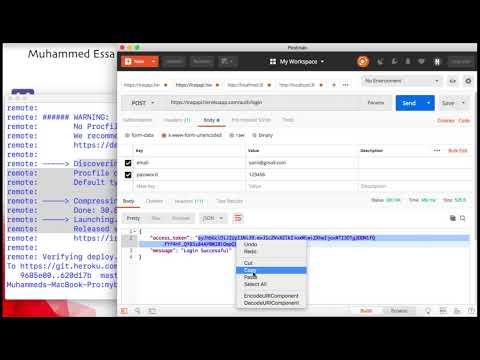 9  Ruby on Rails API JWT CRUD