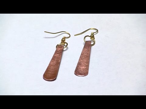 Copper Earrings Simplified
