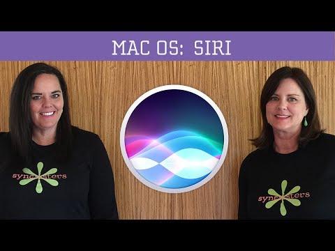 Siri - MacOS