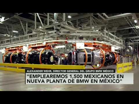 BMW empleará a mil 500 mexicanos en nueva planta en San Luis Potosí: Alexander Wehr