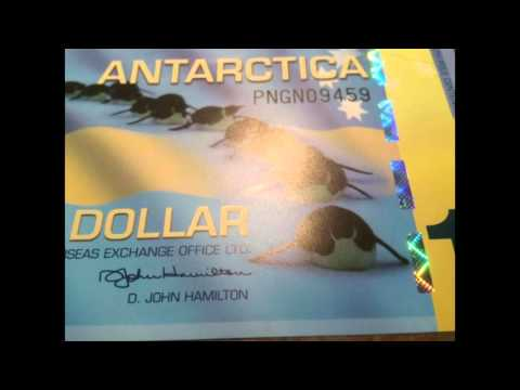 My Currency Collection: Antarctica Dollar