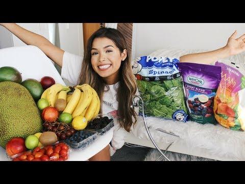 VEGAN FOOD HAUL + FIRST TIME BUYING A JACKFRUIT | ItsMandarin