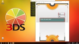 How To Delete A Pokemon Save File Start New Game On Citra Emulator