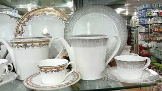 Tea Set & Tea Cups Crockery /Cookware Set Prices in Raja Bazar Bara Rawalpindi Pakistan 2019