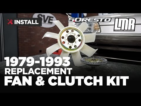 1979-1993 Mustang 5.0 Resto Fan Blade & Clutch Kit - Install & Review