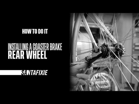 How to do it - Installing a coaster brake rear wheel