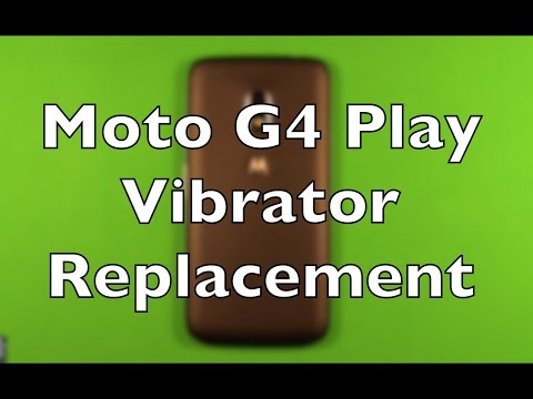 Moto G4 Play Vibration Motor Replacement Repair How To Change