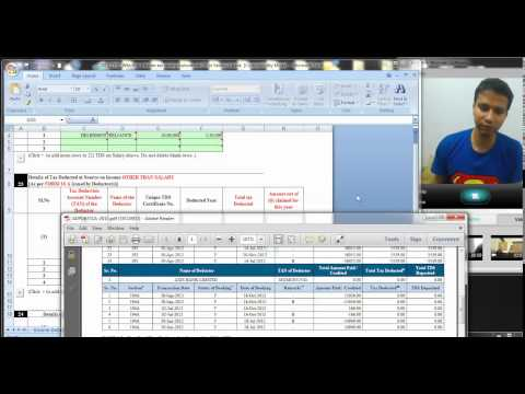 513 (Income tax) How to use Form 26 AS to file income tax return (Hindi)