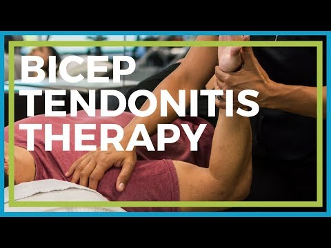 Bicep Tendonitis Physiotherapy at Home | Physical Therapy Exercises