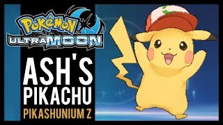 How to get ash pikachu with kalos cap in pokemon moon using pkhex