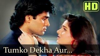 Tumko Dekha Aur Sunil Shetty Mamta Kulkarni Waqt Hamara Hai Bollywood Songs Kumar Sanu