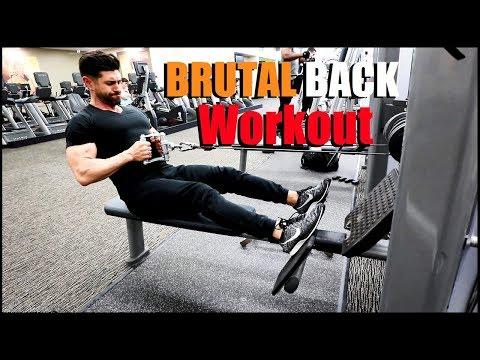 Get a BIGGER Back | alpha m. Workout vlog (WARNING: Not For Beginners)
