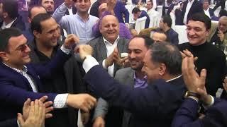 Vasif Əzimovun toyu - Manaf Agayev,Elikram Bayramov ve basqalari - Beyle gozel reqs 01.03.2018
