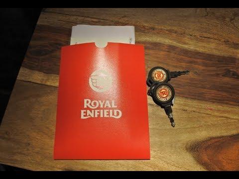 Royal Enfield Reddtich Red 350 CC  I  Delivery  I  Royal Wanderer