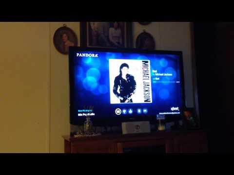Xfinity X1 HD DVR Pandora Radio Account