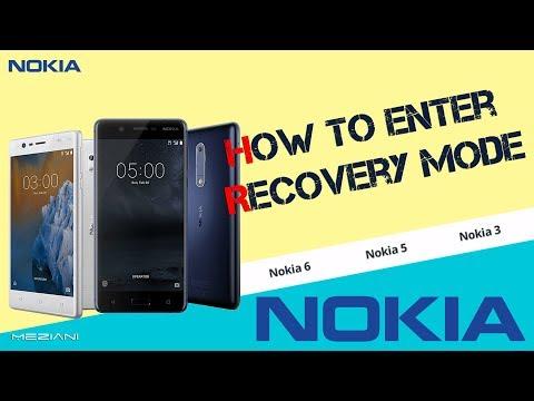 How to enter Recovery Mode NOKIA 3/ 5/ 6