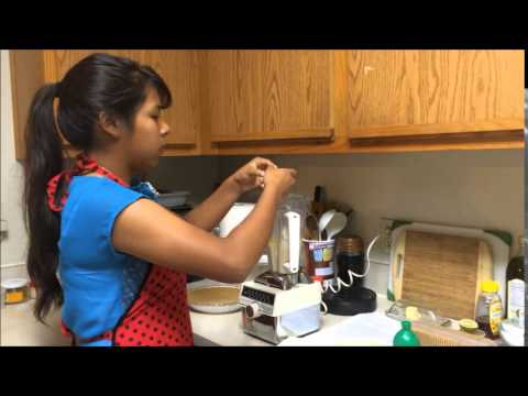 Diana Cheesecake Cooking Video in Spanish