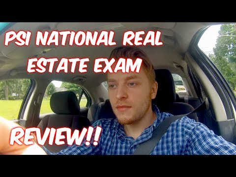 National Real Estate License Exam REVIEW!!