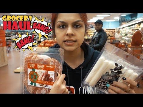 Keto Grocery Haul Bang Bang! Trader Joe's VS Kroger #AD