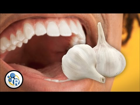 Why Does Garlic Make Your Breath Smell?
