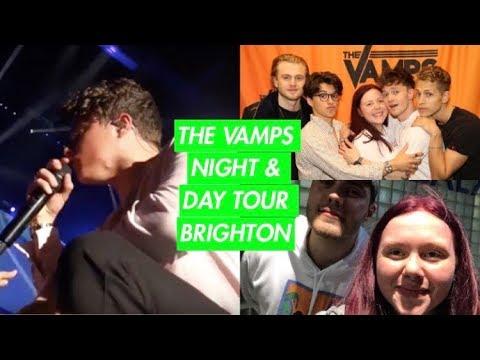 The Vamps Night & Day Tour Brighton - MEETING POINTLESSBLOG