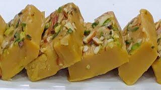बेसन की बर्फी बनाने का आसान तरीका / besan ki burfi / besan barfi recipe hindi