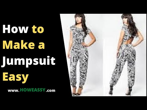how to make a jumpsuit easy
