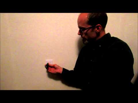 Video: How to use an electrical tester to see if you have a hot wire or power at an outlet
