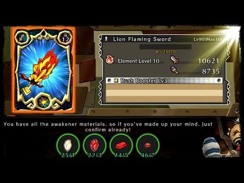 Awakening Lion Sword! Lion Flaming Sword! [Happy Dungeons]