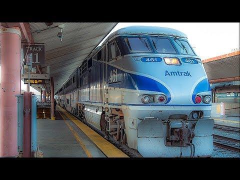 Arriving At Union Station On Amtrak, Los Angeles