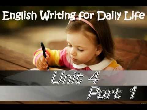 การเขียนภาษาอังกฤษในชีวิตประจำวัน การเขียนเพื่อการสมัครงาน ตอนที 1