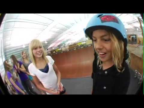 Check out Curren Caples as he gets his First kiss!! Camp Woodward!