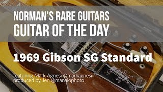 Norman's Rare Guitars - Guitar of the Day: 1969 Gibson SG Standard Walnut