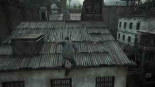 Uncharted 4 Prison Escape Scene