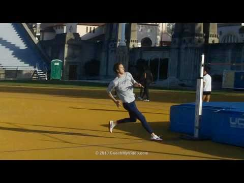 Track & Field: High Jump - Coached Drill for High Jumping from CoachMyVideo.com App