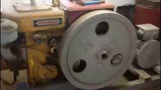 Yanmar antique diesel engine generator