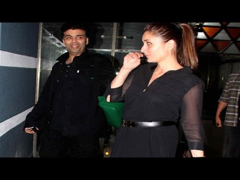 Pregnant Kareena Kapoor PARTIES with friends!
