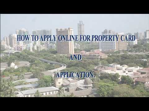 How to Apply Online for Property Card
