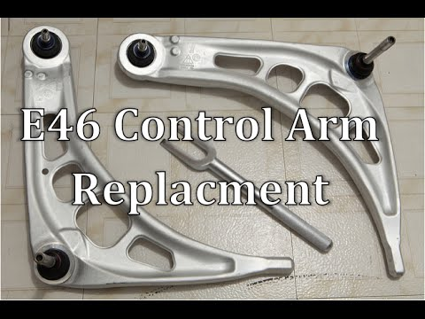 BMW E46 Control Arm Replacment