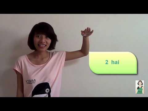 Vietnamese Numbers #1: Basic numbers 0 - 10