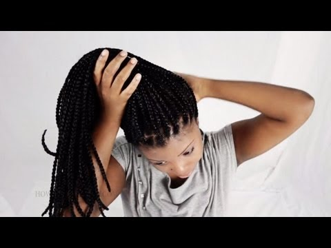 How To Reduce The Weight Of Your Heavy Patra Braids/Box Braids/Senegalese Twists/Micro Braids Etc.