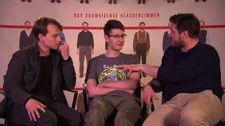 Das schweigende Klassenzimer - Interviews mit Leonard Scheider und Ronald Zehrfeld