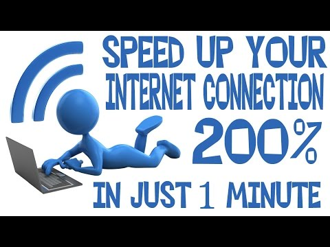 How to Speed UP Your internet connection in 1 minute up to 200% [100% working Trick]
