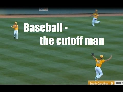 Great examples of baseball cutoff man - how to be the cutoff