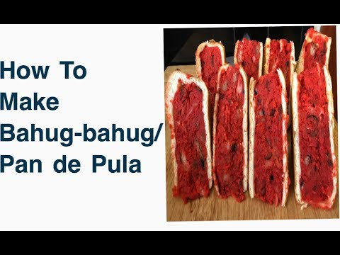 How To Make Bahug- bahug/ Pan de Pula
